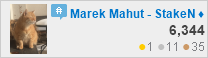 profile for Marek Mahut - StakeNuts at Cardano